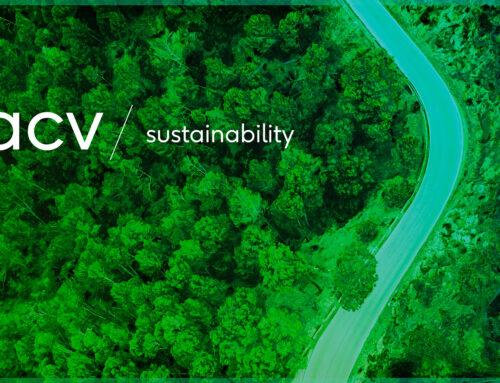 Nachhaltigkeit bei acv