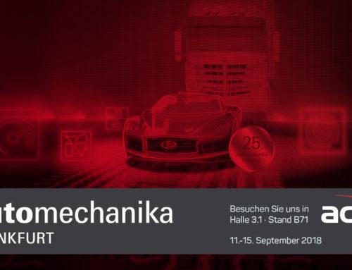 acv auf der Automechanika Frankfurt